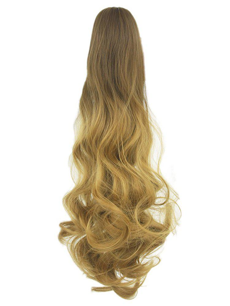 Online Long Body Wave Clip On Synthetic Ombre Hair Extension