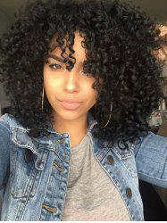 Afro Curly Long Cosplay Synthetic Party Wig -
