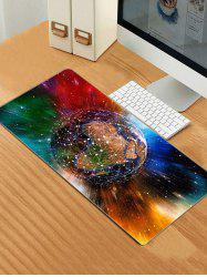 Colorful Earth Patterned Large Mouse Pad -