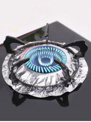 Kitchen Tool 10 Pcs Aluminum Foil Gas Stove Cleaning Pads -
