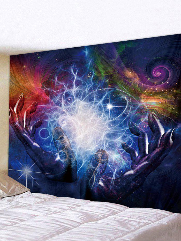Sale Hands Universe Print Tapestry Wall Hanging Art Decoration