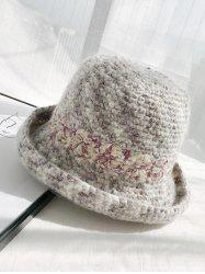 Winter Street Hand-crochet Knitted Wool Cap -
