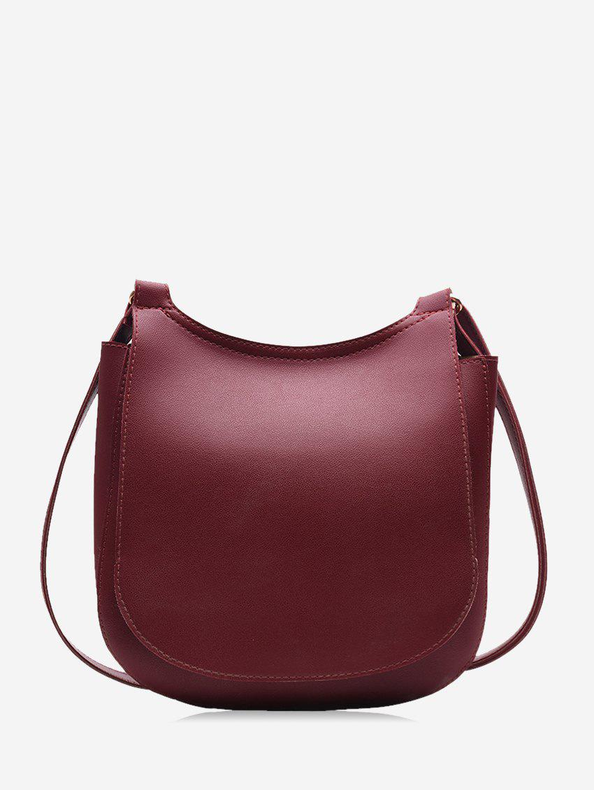 Buy Casual Big Simple Solid Single Shoulder Bag