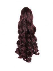 Long Big Wave Synthetic Claw Ponytail -
