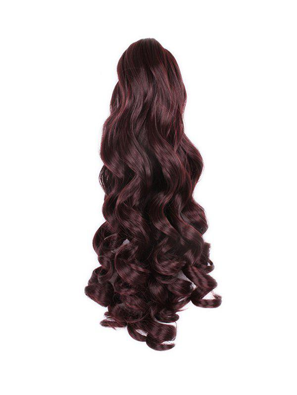 Buy Long Big Wave Synthetic Claw Ponytail