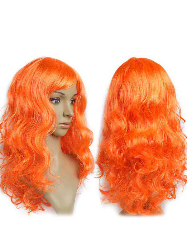 Sale Long Side Fringe Wavy Synthetic Cosplay Wig