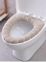 O-shape Warm Soft Toilet Seat Cover -