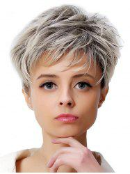 Short Colormix Straight Synthetic Wig -