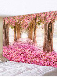 Valentines Day Flower Forest Print Tapestry Wall Hanging Art Decoration -