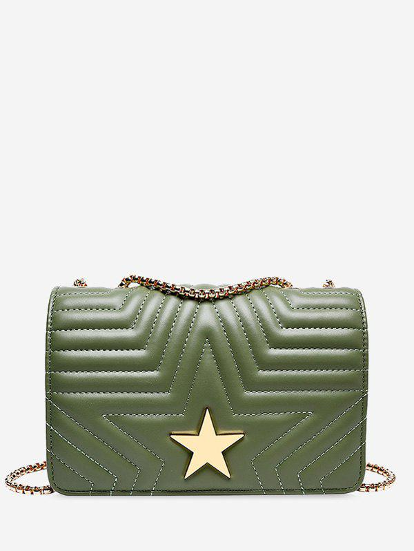 Chic Star Quilted Chain Cover Crossbody Bag
