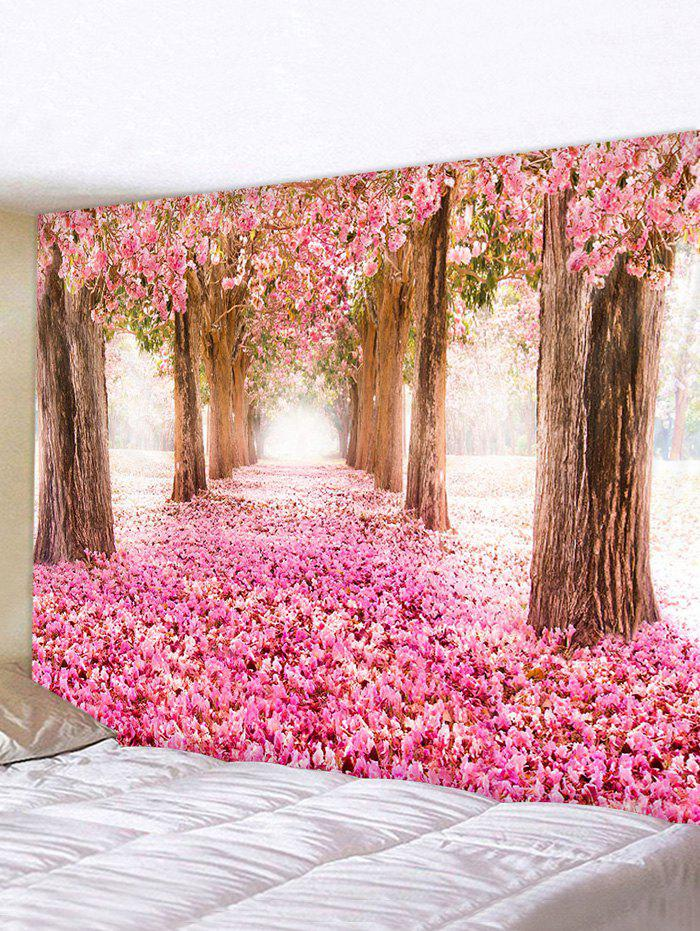 Store Valentines Day Flower Forest Print Tapestry Wall Hanging Art Decoration