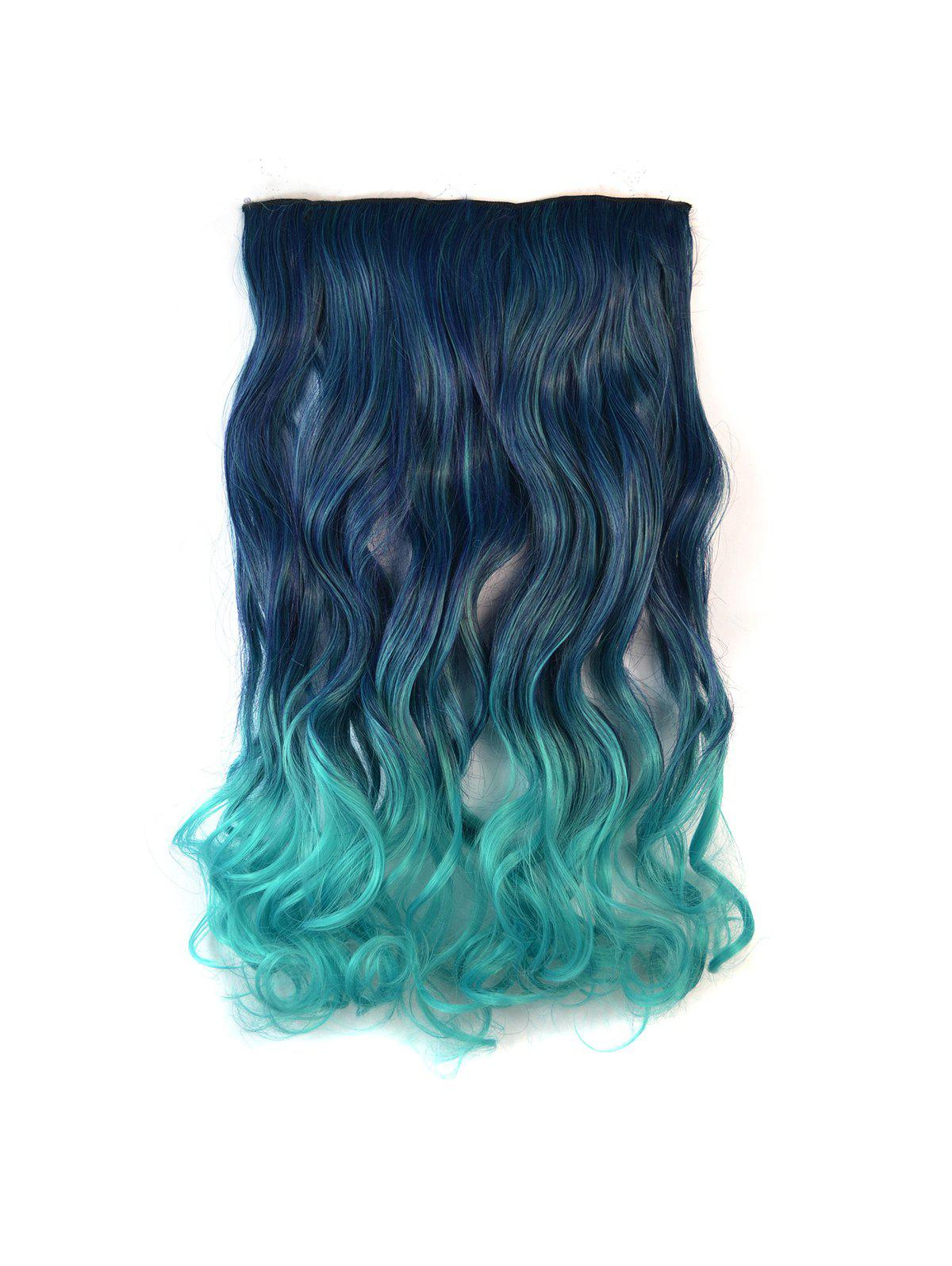 Online Ombre Long Body Wave Synthetic Hair Piece