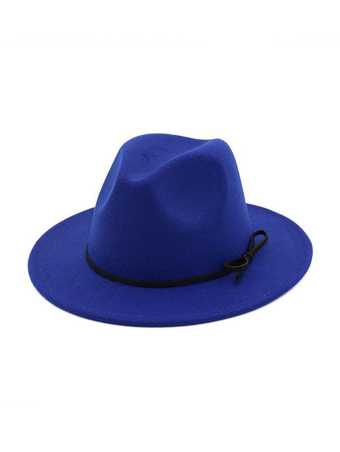 Discount Bowknot Embellished Jazz Hat