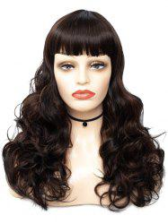 Full Bang Long Body Wave Synthetic Wig -