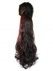 Mixed Curly Long Synthetic Hair Piece -