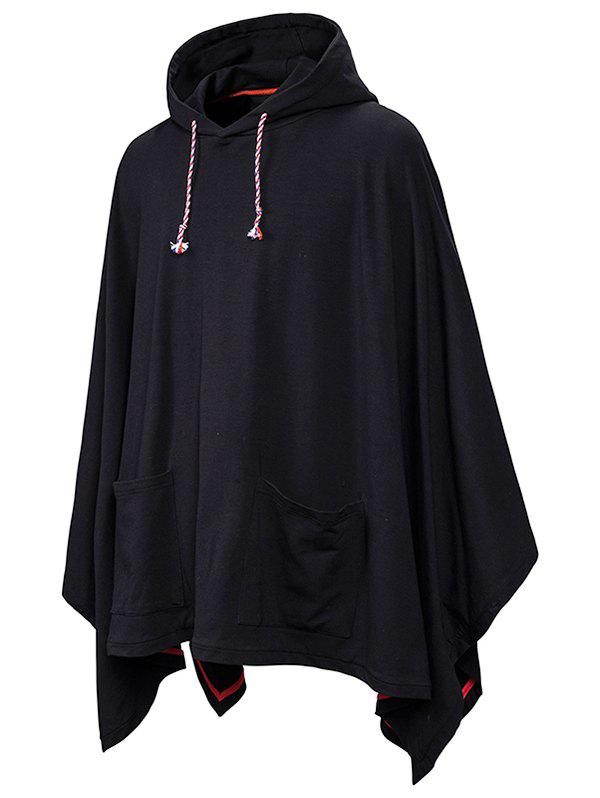 Store Front Pockets Gothic Cloak Hoodie