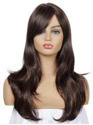 Side Bang Straight Synthetic Long Wig -