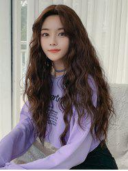 Long Synthetic Wavy Center Part Wig -