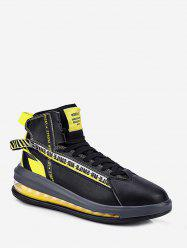 Color-blocking High Top Sport Sneakers -