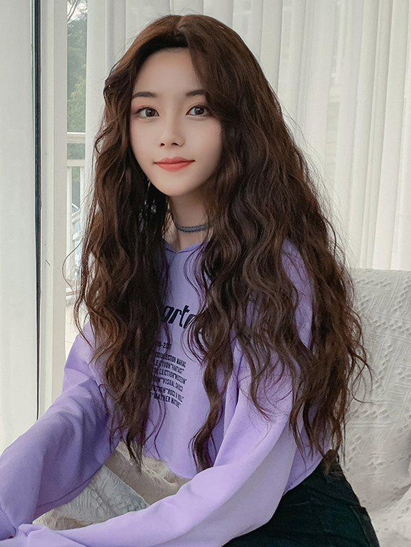 Shops Long Synthetic Wavy Center Part Wig