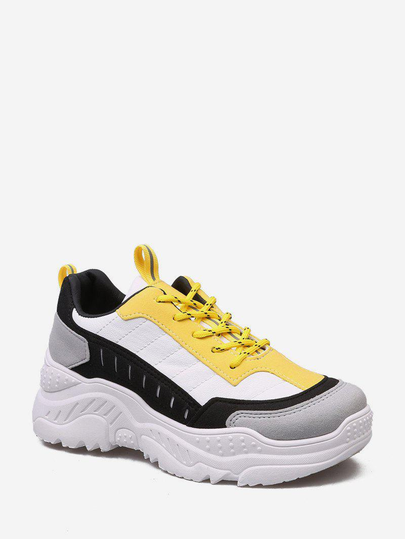 Hot Color-blocking Comfortable Outdoor Sneakers