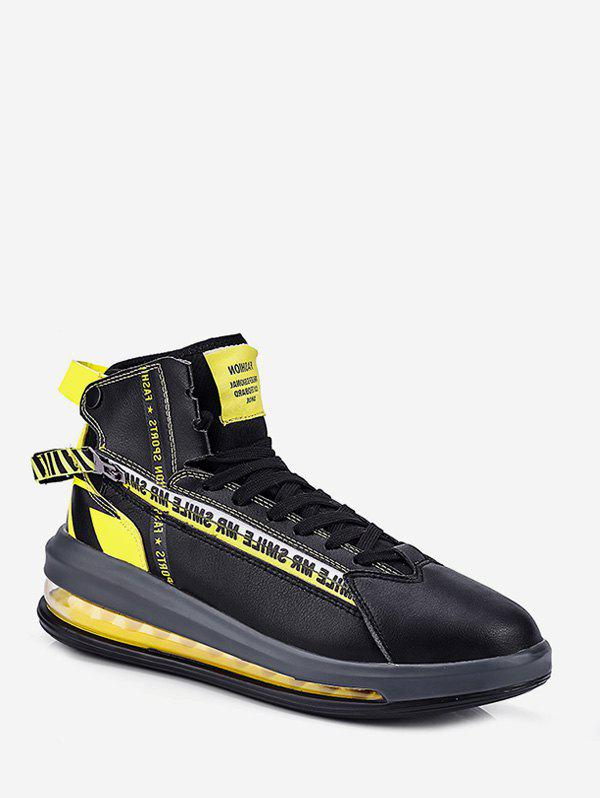 Outfits Color-blocking High Top Sport Sneakers