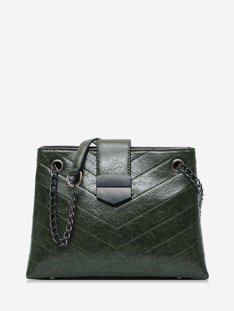 Outfits Quilted Chain Retro Shoulder Bag