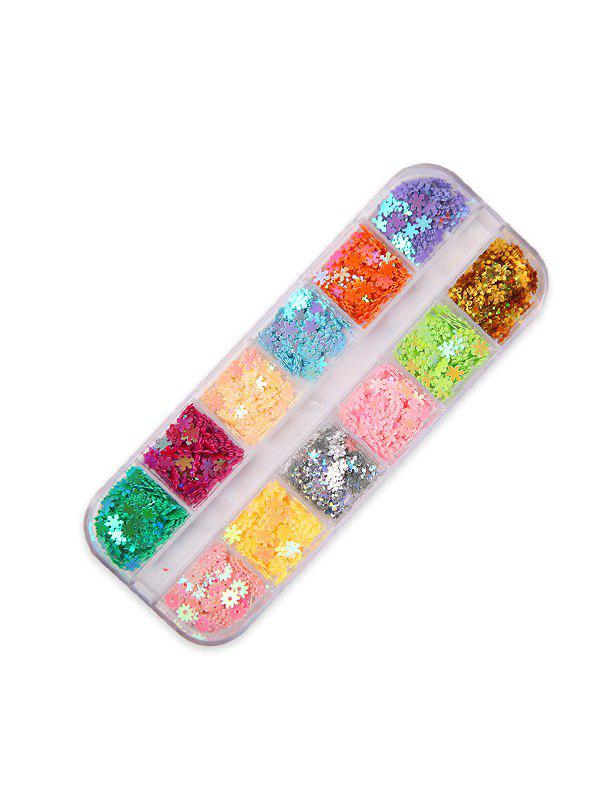 Store Moon And Stars Mixed Sequin Nail Decorations