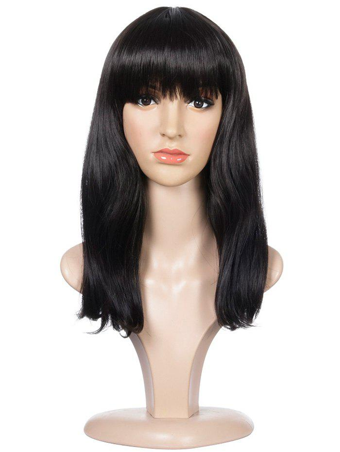 Shop Full Fringe Long Natural Straight Synthetic Wig
