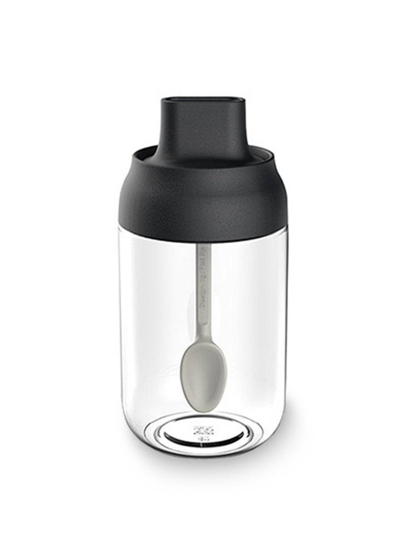 Online Moistureproof Glass Spice Jars with Cover Spoon
