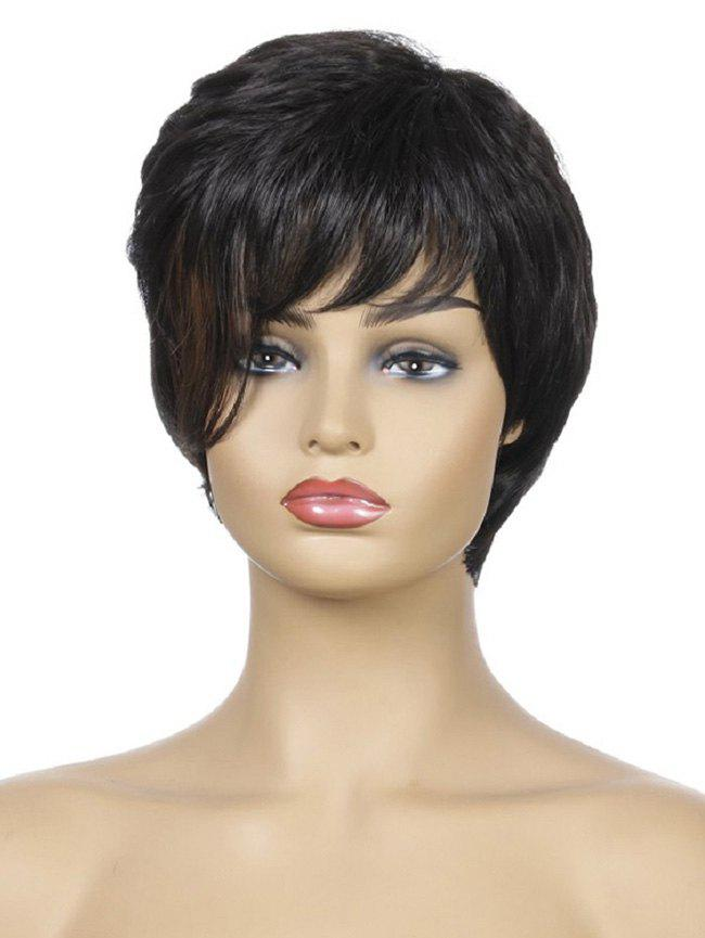 Outfit Short Side Bang Slight Straight Synthetic Wig