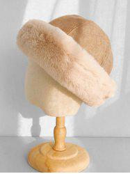 Faux Fur Winter Thick Bucket Hat -