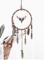 Alloy Feather Dream Catcher Hanging Decoration -