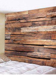 Wood Board 3D Print Tapestry Wall Hanging Art Decoration -