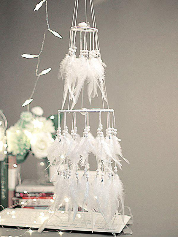 New Wedding Decoration Tiered Beaded Feather Dream Catcher