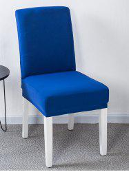 Solid Color Stretch Chair Cover -
