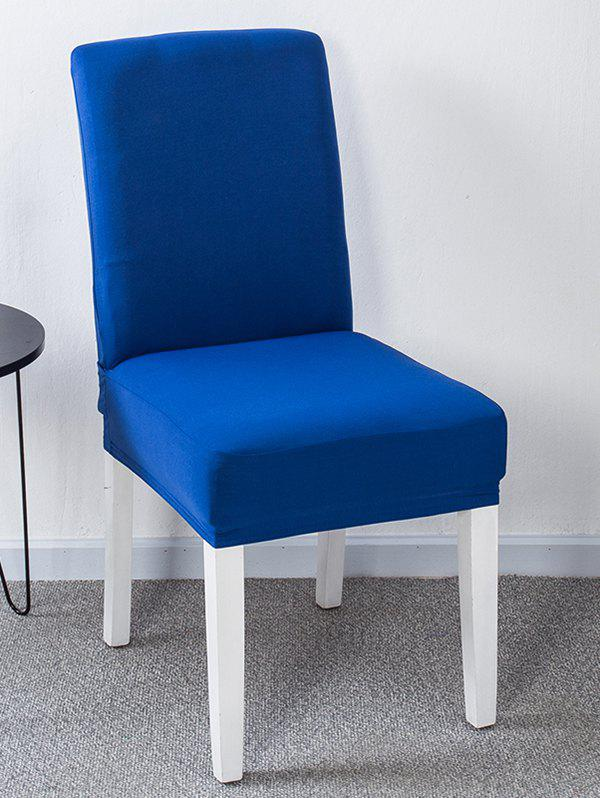 Store Solid Color Stretch Chair Cover