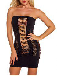 Cut Out Bodycon Solid Dress -