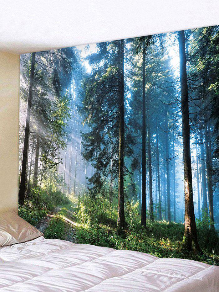 Best Decor Forest Print Polyester Tapestry