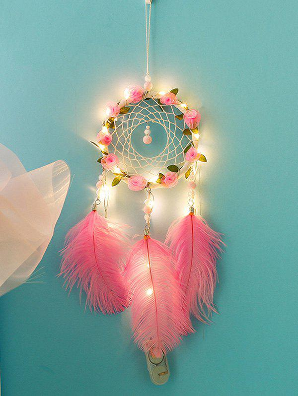 Shops Flower Dream Catcher Feather Hanging Decoration