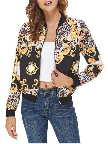 Leopard Print Casual Jacket