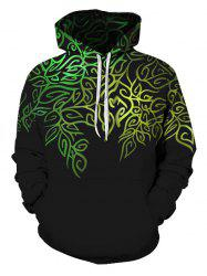 Novelty Printed Pouch Pocket Hoodie -