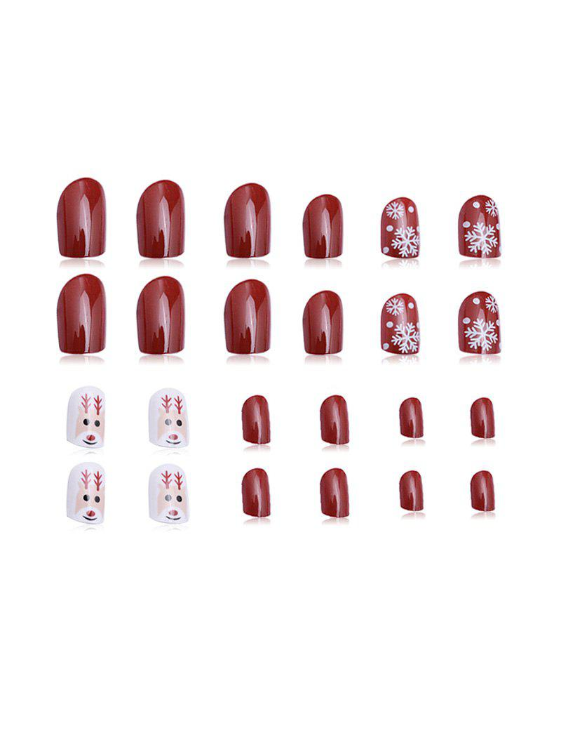 Unique 24 PCS Nail Decoration Nail Stickers