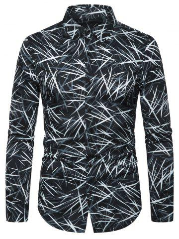 Casual Printed Button Full Sleeves Shirt