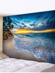 Sea Beach Landscape Print Wall Art Tapestry -