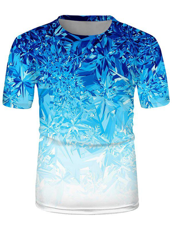 Fancy Ice Printed Short Sleeves T-shirt