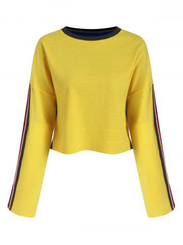 Two Tone recadrée Sweat-shirt