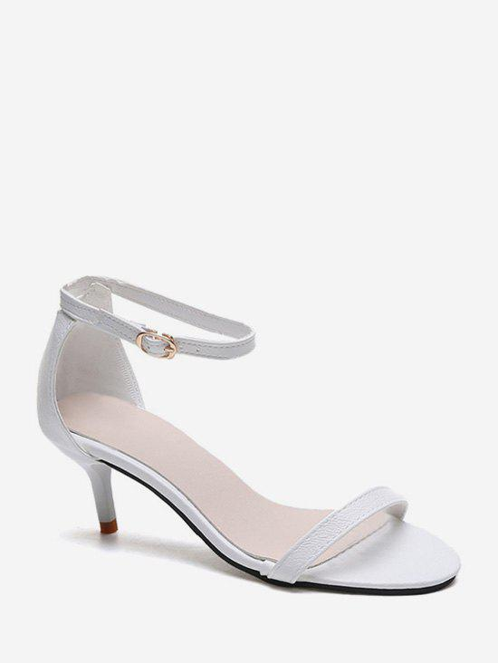 Buy One Strap Low Heel Ankle Strap Sandals
