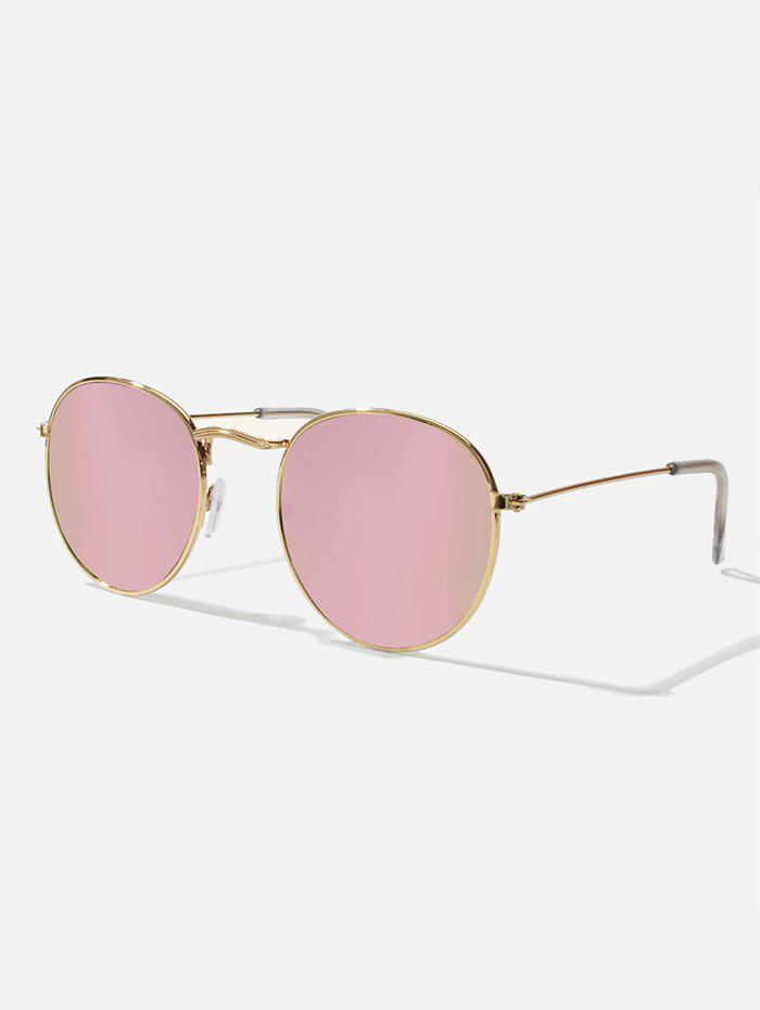 Hot Retro Metal Gradient Sunglasses