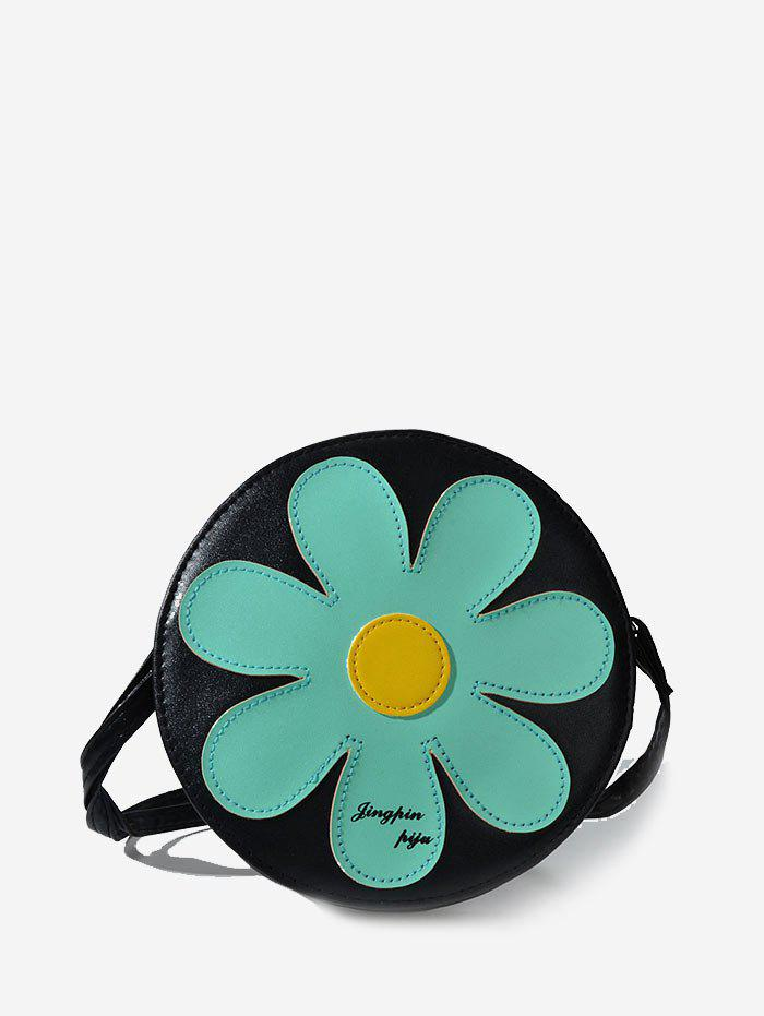 Discount Floral Round Shoulder bag